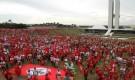 VI Congresso do MST: 16 mil fazem protesto pela Reforma Agrária em Brasília