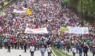 Marcha en Colombia por el derecho a la protesta social y la jurisdicción especial indígena