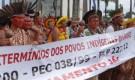 Governo Temer insiste em decretar o fim da demarcação das terras indígenas, portanto da existência dos povos indígenas